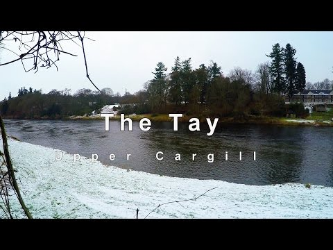 Salmon Fishing On The Upper Cargill Beat On The River Tay