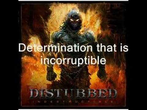 Disturbed: Indestructible Lyrics