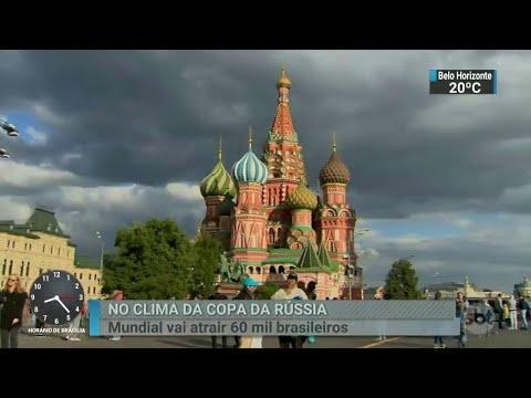SBT na Rússia: Conheça Moscou, a sede da abertura do mundial de 2018 | SBT Brasil (09/06/18)