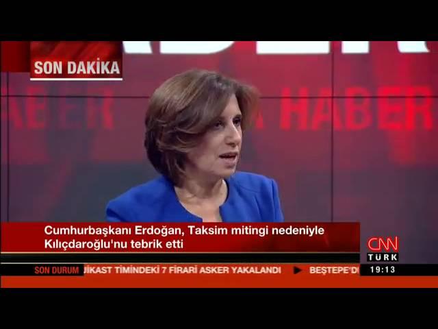 TÜSİAD Yönetim Kurulu Başkanı Cansen Başaran-Symes, CNN Türk kanalında Ana Haber bültenine katıldı