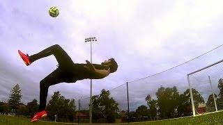 BICYCLE KICK TUTORIAL - Football / Soccer Tutorials