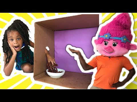 Thumbnail: What's in the Box Challenge! Gross Giant Gummy Candy Parent vs Kid