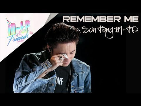 [V-LIVE] | Remember Me | M-TP AND FRIENDS | Sơn Tùng M-TP