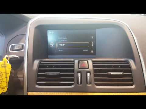 Dension DAB+U i en 2014 modell Volvo XC60.
