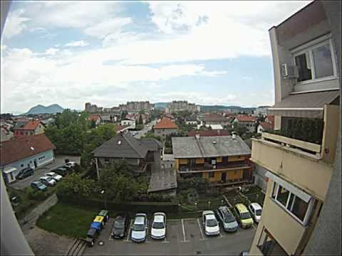 Timelapse weather Ljubljana, 24.5.2012