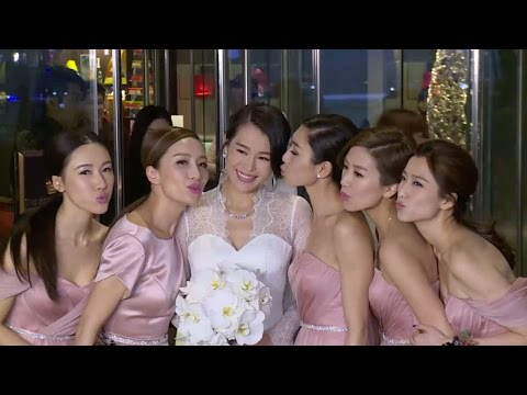胡杏儿大婚与伴娘镜头 / Just Married: Myolie Wu's Wedding-Show