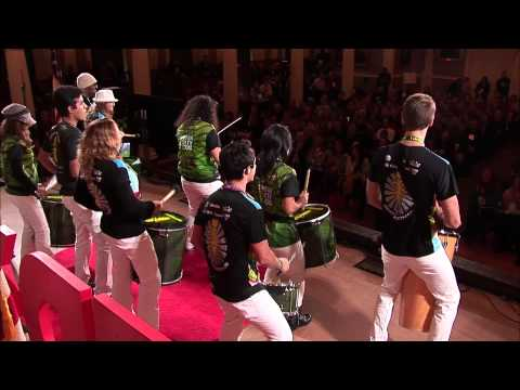 World drumming for entertainment, education, and social change | Grooversity | TEDxBoston