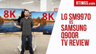 LG SM9970 vs Samsung Q900R: 8K…