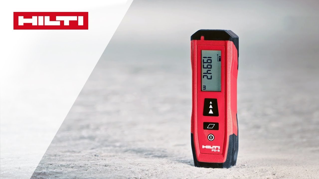 Hilti Pd 10 Laser Entfernungsmesser : Vorstellung des hilti pd s laser distanzmessgerätes youtube