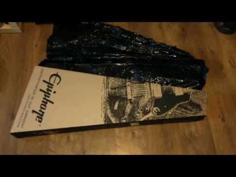 UNBOXING - EPIPHONE Les Paul Custom PRO EB