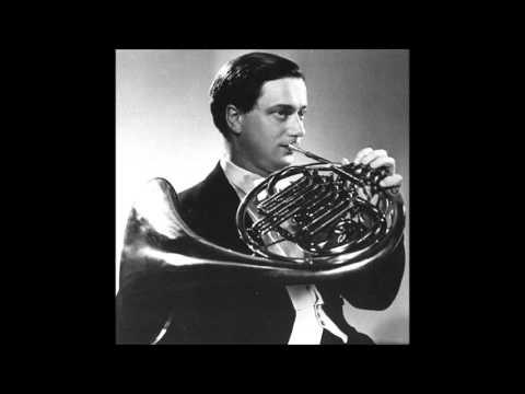 Brain / Karajan, Mozart Horn Concerto No.4 n E flat major K 495
