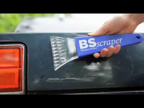 Obama bumper sticker removal kit