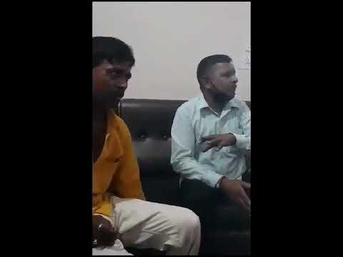 गोंडा : प्रधान प्रतिनिधि की सुपारी ली गयी, सुपारी लेने वाले का थाने में खाना खाने वीडियो आया सामने