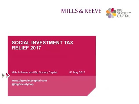 Social Investment Tax Relief Made Simple