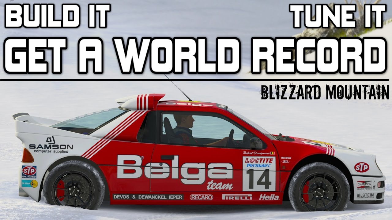 Forza Horizon 3 775bhp Ford Rs200 World Record Build And Tune