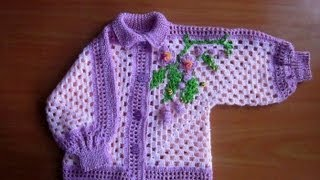 Repeat youtube video crochet sweater for kids
