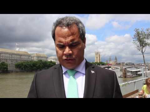 Marshall Islands Minister Mike Halferty