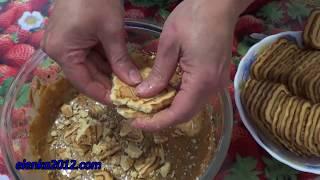 Торт Муравейник из печенья без выпечки за 10 минут