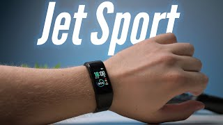 Jet Sport FT-10C — функциональный и доступный фитнес-браслет