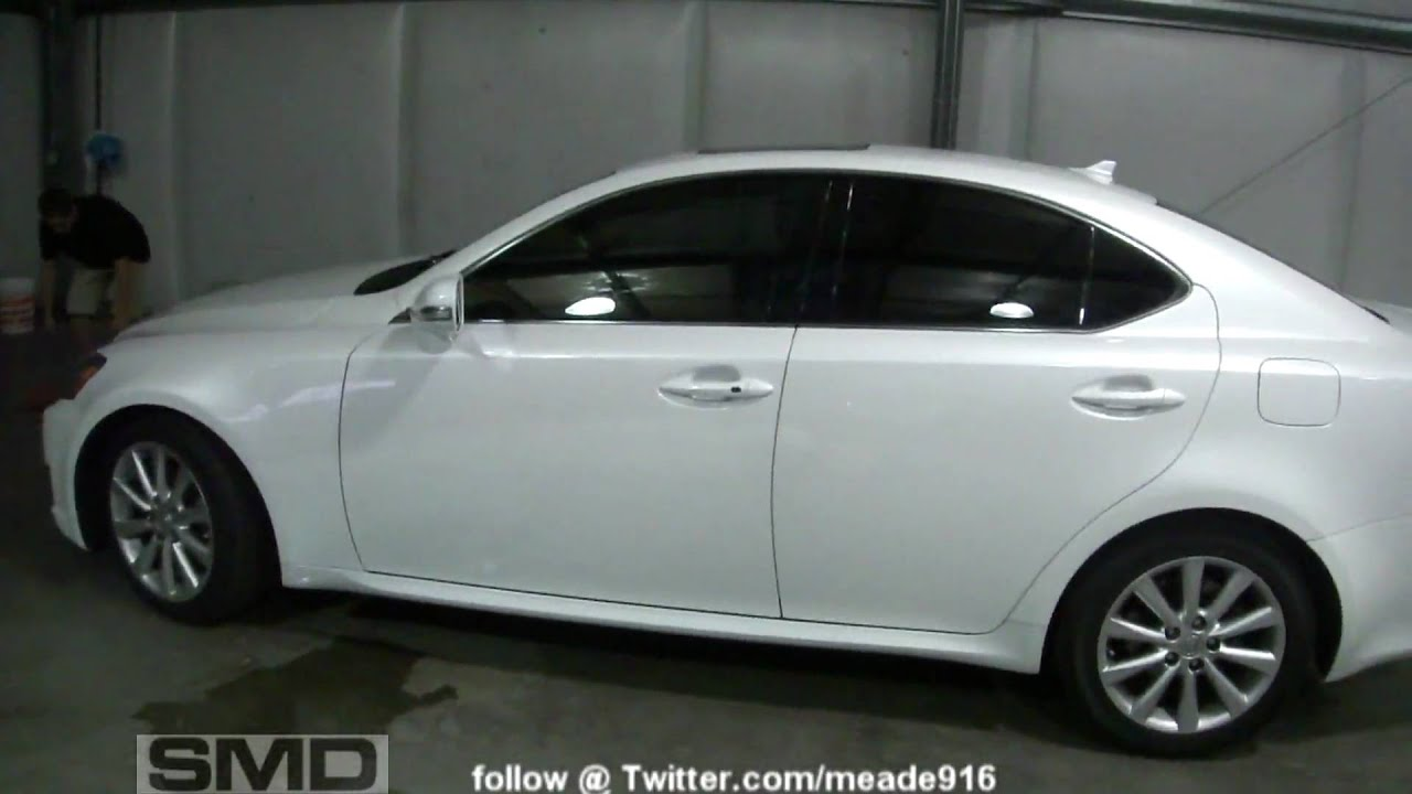 2009 lexus is250 window tint smd caddy bass demo 8 18 39 s for 18 percent window tint