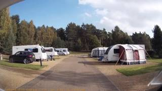 Sandringham Caravan Club Site, Norfolk