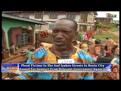 Flood victims in Benin appeal for support from relevant govt. agencies