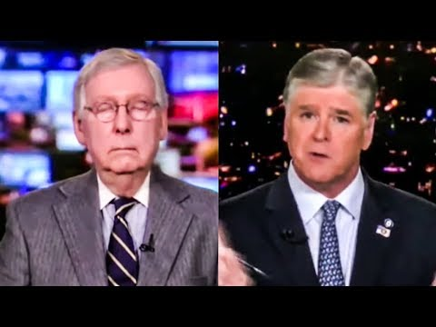 Moscow Mitch Sleepily Swears Allegiance To Trump On Impeachment