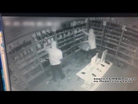 Кража магазина цифровой техники в Перми