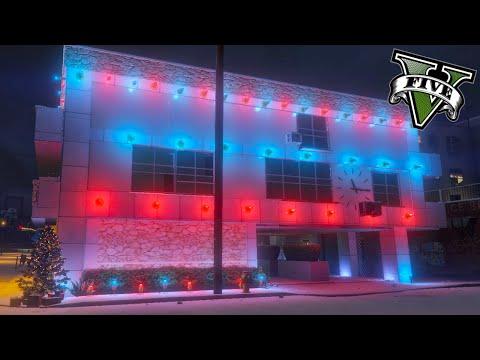 GTA V Editor De Mapas - La Casa De La Navidad !! WOW - ElChurches