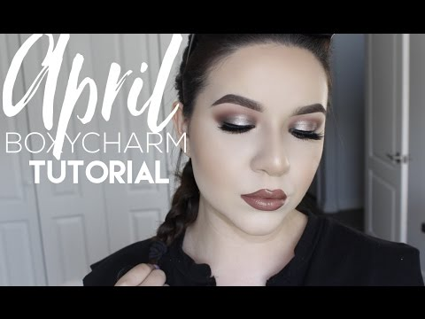 APRIL Boxycharm Tutorial Monthly Review | KatEyedTv