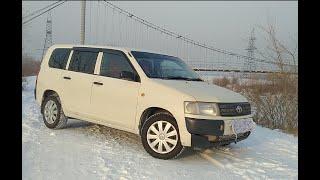 Toyota Probox обзор и планы