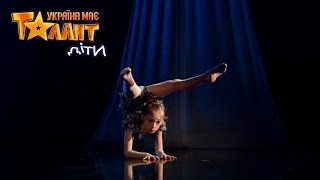 Performance on the canvases without any insurance on Ukraine's Got Talent. Live