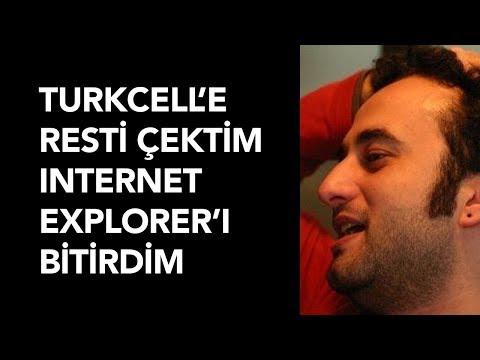 Turkcell'e Resti Çektim Internet Explorer'ı Bitirdim - Geliştirici Sohbetleri (Bilal Çınarlı)
