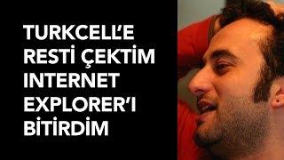 Turkcell'e Resti Çektim Internet Explorer'ı Bitirdim - Yazılımcı Sohbetleri (Bilal Çınarlı)
