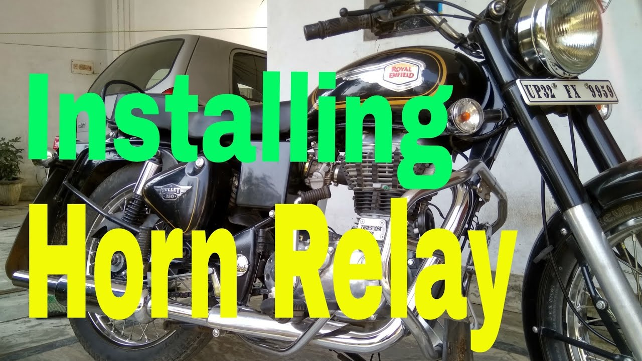 Royal Enfield Std 350uce Installing Horn Relay Use Double Wiring Diagram For