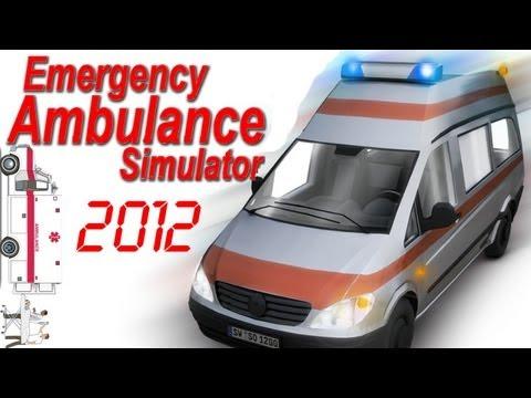 Emergency Ambulance Simulator 2012 Gameplay PC HD