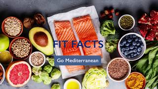 Gambar cover Fit Facts: Benefits of a Mediterranean Diet