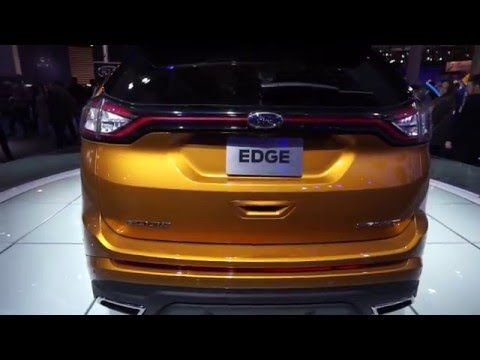 European Motor Show Brussels 2016 - Ford Edge Sport