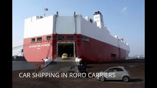Car Shipping From Dubai