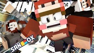 동물 삼남매의 코믹 드로퍼 ㅋㅋ (Feat. 말하는 NPC) [12 드로퍼: 마인크래프트 드로퍼] Minecraft - 12 Dropper - [도티]