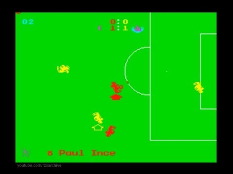 Manchester United Europe Walkthrough, ZX Spectrum