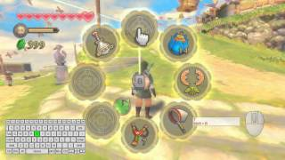 How to play Skyward Sword using keyboard and mouse.