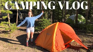 1ST TIME CAMPING *in 2020* | Red Feather Lake, Colorado