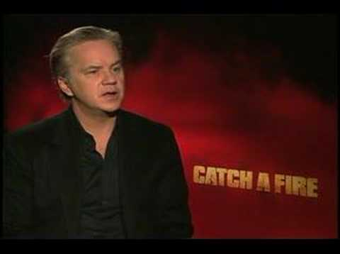 Catch a Fire Tim Robbins interview - YouTube