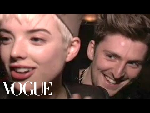 A Night Out with Agyness Deyn & Henry Holland