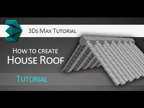 3ds Max tutorial: Quick creation of house roof