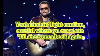 Eric Church - Desperate Man (lyrics) Video