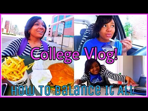 COLLEGE VLOG: Typical Days, VLOGGING ADVICE || Skipping Class, BALANCE & TIME MANAGEMENT!