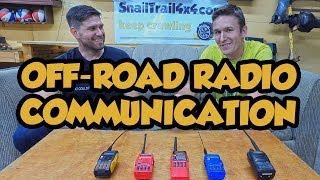 What is the best type of radio for off-roading