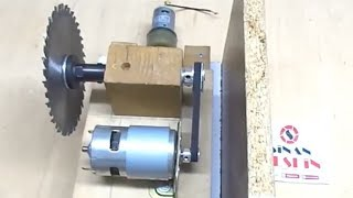 Table Saw - (Old video 1 Part) - Tezgah testere yapımı - Tek parça